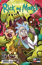 Image: Rick & Morty #56 (cover B - Allen-McDowell) - Oni Press Inc.