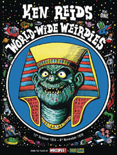 Image: Ken Reid: World Wide Weirdies HC  - Rebellion / 2000AD