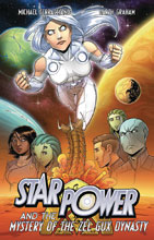 Image: Star Power Vol. 03: Mystery of the Zel Gux Dynasty GN  - Skymap Comics