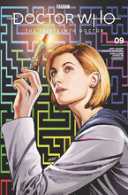 Image: Doctor Who: The 13th Doctor #9 (variant cover - SDCC 2019) - Titan Comics