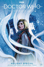 Image: Doctor Who: The 13th Doctor Holiday Special #1 (cover A - Caranfa) - Titan Comics