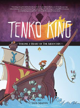 Image: Tenko King Vol. 02: Heart of the Mountain GN  - Toonhound Studios