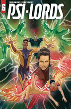 Image: Psi-Lords #6 (cover B - Pinna) - Valiant Entertainment LLC