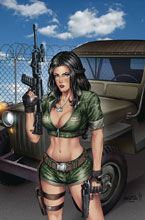 Image: GFT 2019 Armed Forces Appreciation  (cover A - Reyes) - Zenescope Entertainment Inc
