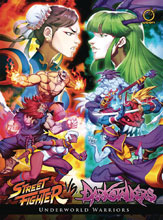 Image: Street Fighter vs. Darkstalkers: Underworld Warriors HC  - Udon Entertainment Inc