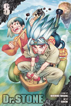 Image: Dr. Stone Vol. 08 SC  - Viz Media LLC