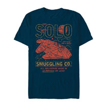 Image: Star Wars T-Shirt: Solo Smuggling Co  (S) - Fifth Sun