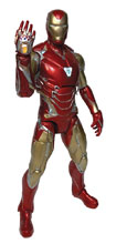 Image: Marvel Select Avengers 4 Action Figure: Iron Man MK85  - Diamond Select Toys LLC