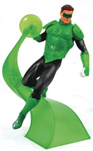Image: DC Comics Gallery PVC Diorama: Green Lantern  - Diamond Select Toys LLC
