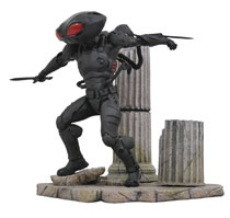Image: DC Comics Gallery PVC Diorama: Aquaman - Black Manta  - Diamond Select Toys LLC
