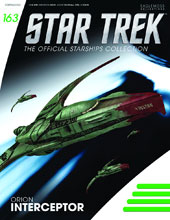 Image: Star Trek Starships Figure Magazine #163 (Orion Interceptor) - Eaglemoss Publications Ltd