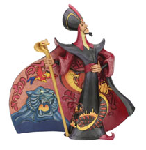 Image: Disney Figurine: Aladdin - Villain Jafar  (9-inch) - Enesco Corporation