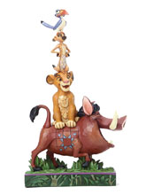 Image: Disney Figurine: Lion King - Cast Stack  (8-inch) - Enesco Corporation