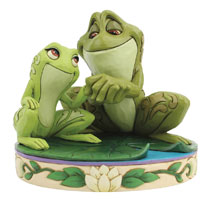 Image: Disney Showcase : Tiana and Naveen as Frogs  - Enesco Corporation