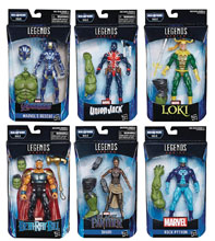 Image: Avengers 4 Legends Action Figure Assortment 201902  (6-inch) - Hasbro Toy Group