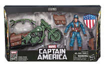 Image: Marvel Legends Ultimate Action Figure Case: Captain America  (6-inch) - Hasbro Toy Group