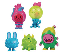Image: Organauts Mighties 5-Piece Vinyl Figure Assortment  - Know Yourself, Inc