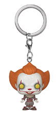 Image: Pocket Pop! It Chapter 2 Keychain: Pennywise  (Open Arm Figure) - Funko