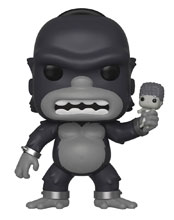 Image: Pop! Animation Vinyl Figure: Simpsons - Homer Kong  - Funko