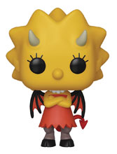 Image: Pop! Animation Vinyl Figure: Simpsons - Lisa as Devil  - Funko