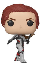 Image: Pop! Avengers Endgame Vinyl Figure: Black Widow  - Funko