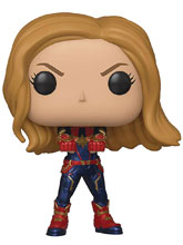 Image: Pop! Avengers Endgame Vinyl Figure: Captain Marvel  - Funko