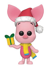 Image: Pop! Disney Holiday Vinyl Figure: Piglet  - Funko