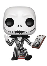 Image: Pop! Town Disney Vinyl Figures 07: The Nightmare Before Christmas - Jack Skellington & Jack's House  - Funko