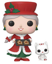 Image: Pop! Funko Holiday Vinyl Figure: Mrs. Claus  - Funko