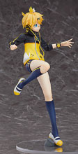 Image: Hatsune Miku Pro Diva Kagamine Rin Stylish PVC Figure  (L version) (1/7 scale) - Max Factory