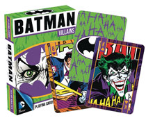 Image: DC Heroes Playing Cards: Batman Villains  - Nmr Distribution America