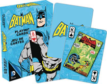 Image: DC Heroes Playing Cards: Retro Batman  - Nmr Distribution America