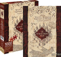 Image: Harry Potter Puzzle: Marauders Map  (1000-Piece) - Nmr Distribution America