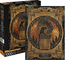 Image: Fantastic Beasts Puzzle: Macusa  (1000-Piece) - Nmr Distribution America