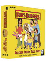 Image: Bob's Burgers Board Game: Belcher Family Food Fight  - Usaopoly