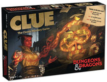 Image: Clue Boardgame: D&D  - Usaopoly