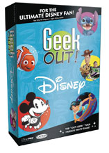 Image: Geek Out Disney Card Game  - Usaopoly