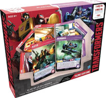 Image: Transformers Trading Card Game: Blaster vs. Soundwave Deck  - Wizards of The Coast