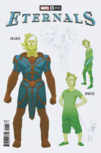 Image: Eternals #1 (incentive 1:10 Design cover - Ribic)  [2020] - Marvel Comics