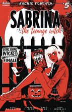 Image: Sabrina the Teenage Witch Vol. 04 #5 (cover C - Andy Fish)  [2020] - Archie Comic Publications