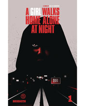 Image: A Girl Walks Home Alone at Night #1 (cover B - Walter ed.) - Behemoth Comics