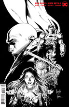 Image: Dark Nights: Death Metal #5 (incentive 1:100 B&W cover - Capullo & Glapion) - DC Comics