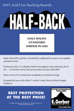 Image: Half-Backs - Standard Size  (100) (SUPPLY 594) -